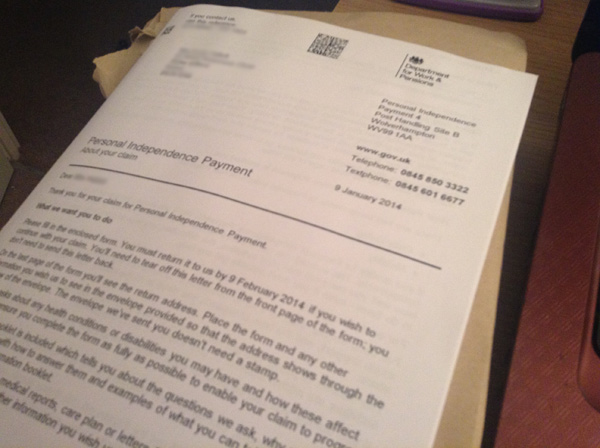 PIP assessment from paper evidence, exemption from interview ...
