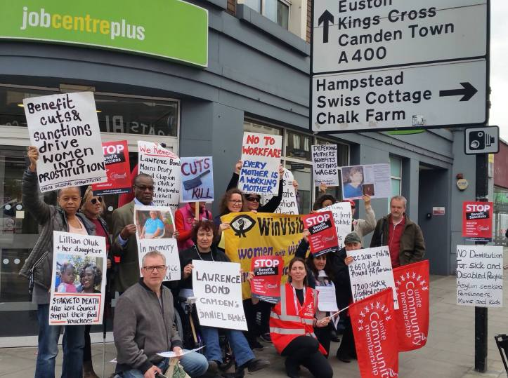 JobcentreProtestUnitedayofaction