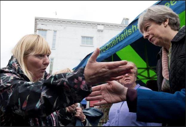 Kathy Mohan Theresa May