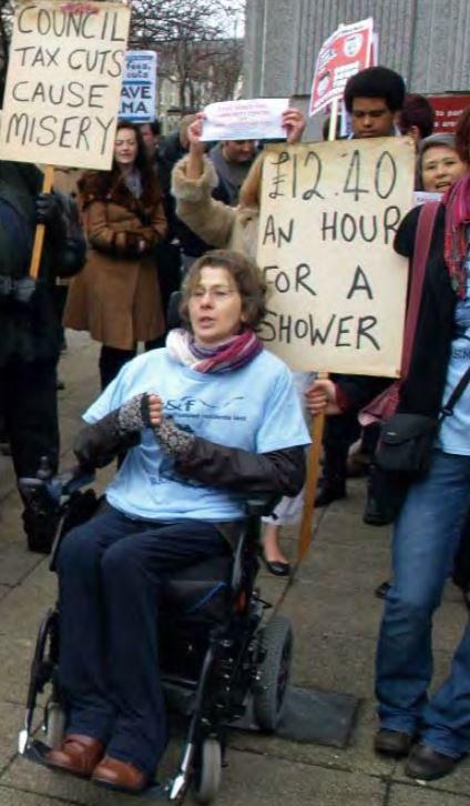 Debbie Domb shower pic