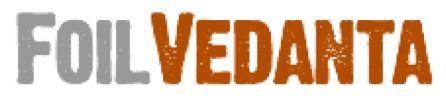 Foil Vedanta logo