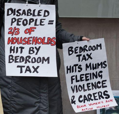 Bedroom tax dis violence